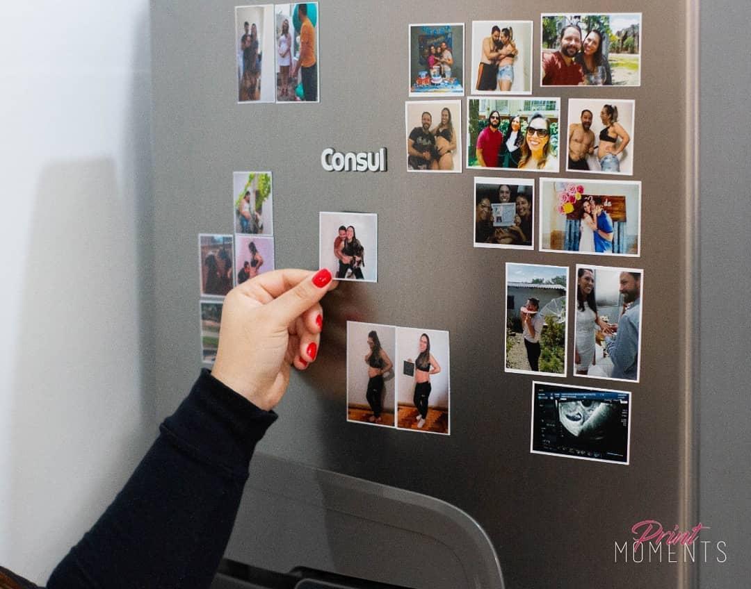 foto imã de geladeira