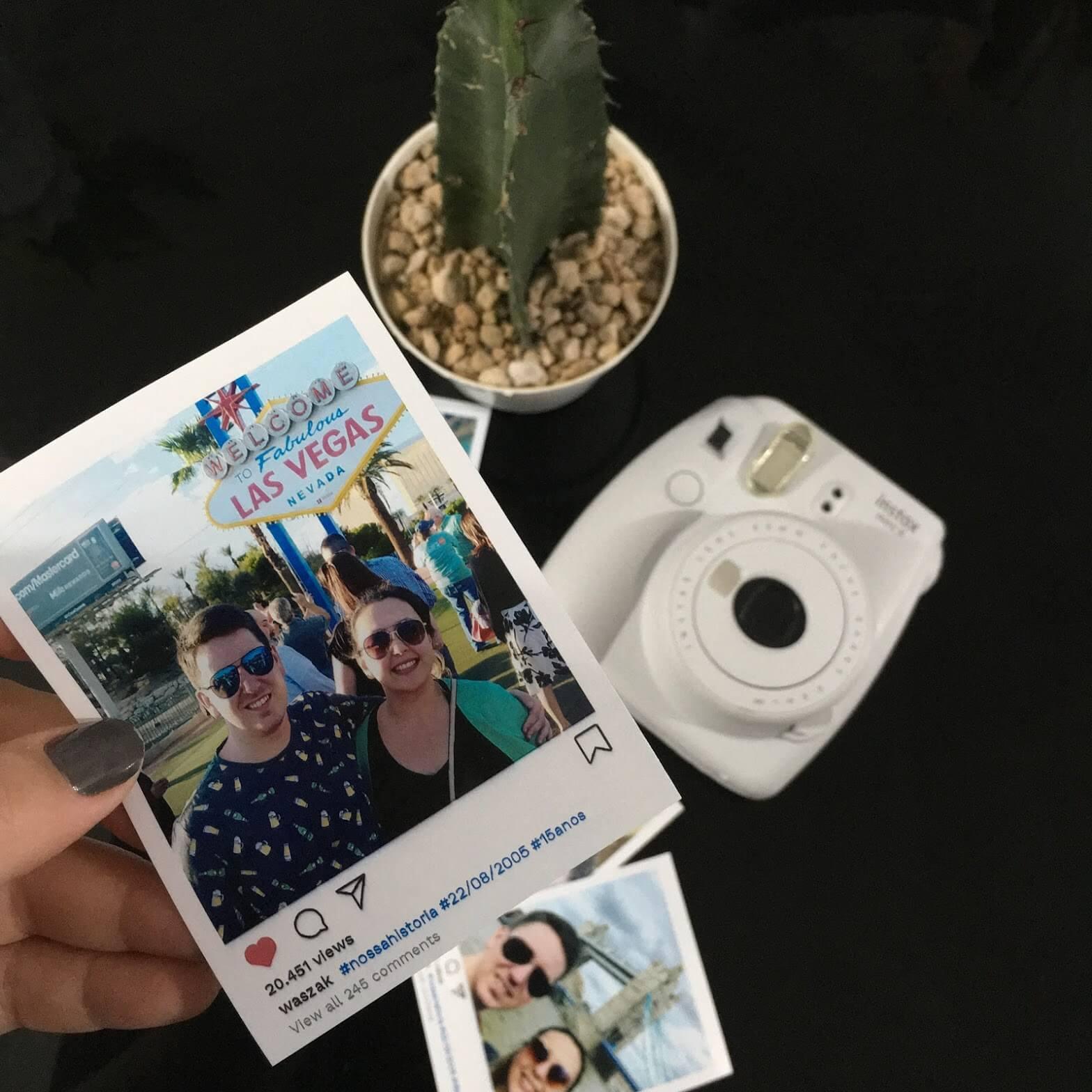 foto polaroid formato instagram